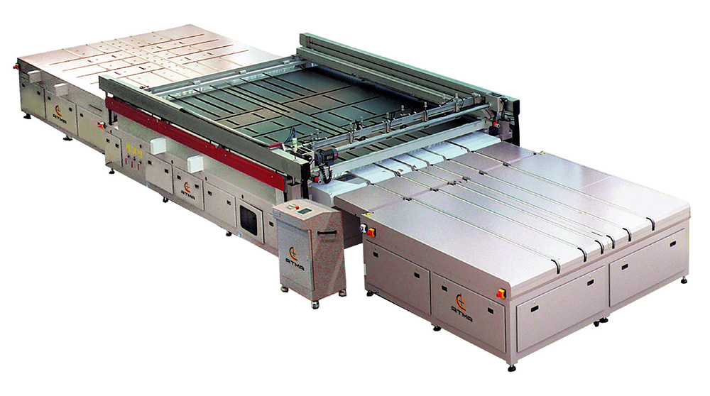 ATMA ATMATIC GS1530(6) Semi-automatic Large Format Glass Screen Printer
