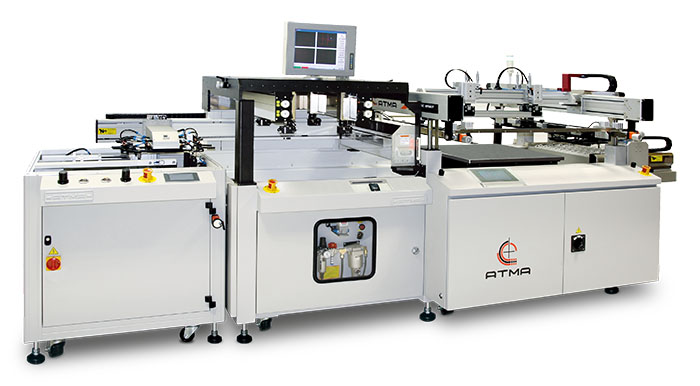 Photo of ATMATIC MF66/F Fully Automatic CCD Registering Screen Printer (Thin Film)